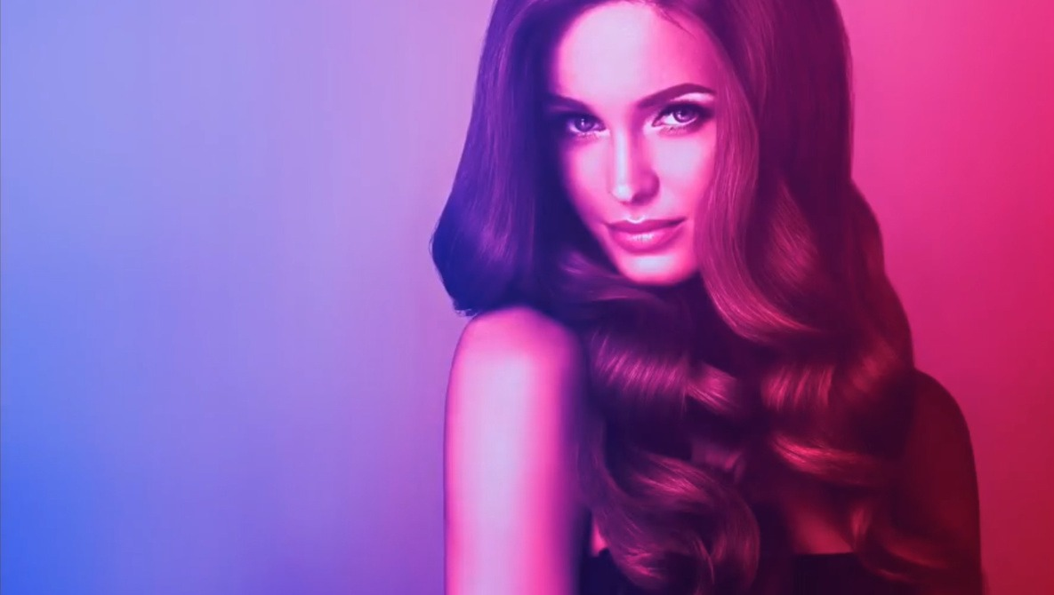 Gradients Help You Fake the Look of Colored Lighting Gels in Photoshop