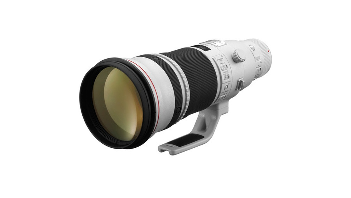 "Will the RF 500mm f/4L IS Telephoto Be the First ""Big White"" Lens For Canon Mirrorless? [Rumor]"