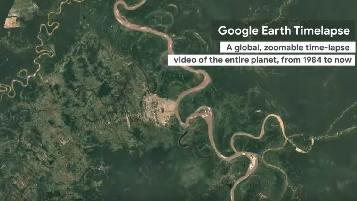 Google Earth Engine Takes Time-lapse to a Higher Level