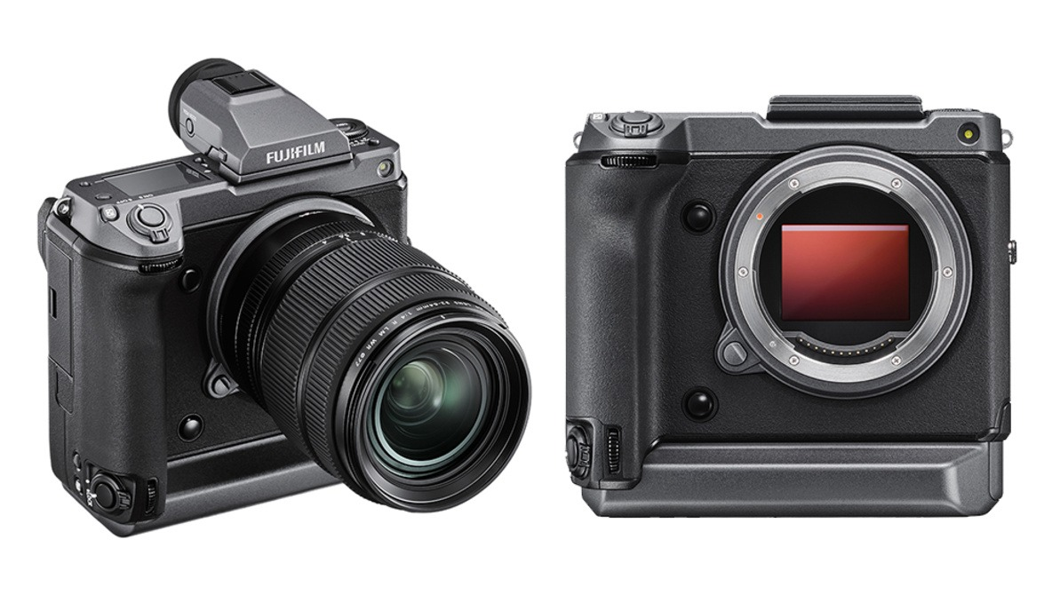 Fujifilm GFX100 is a $10,000 medium format camera with 102MP sensor