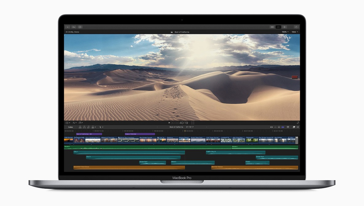 MacBook Pro 2019 benchmarks show significant improvements on previous models