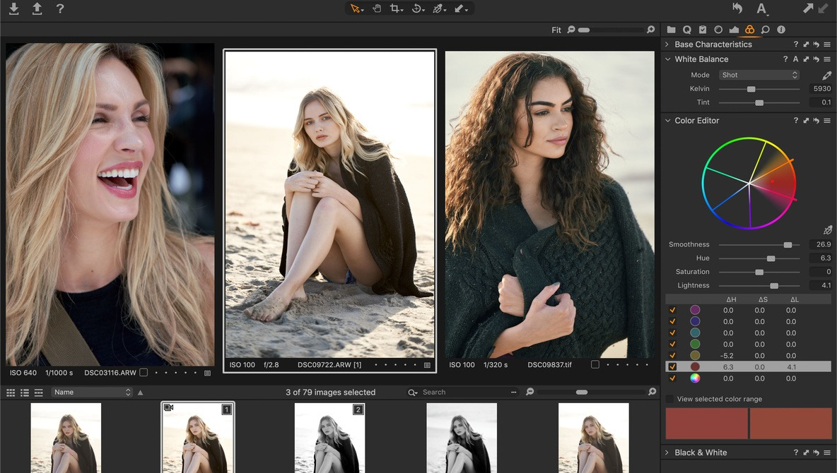 Capture One Express: Straightforward, Powerful, and Free