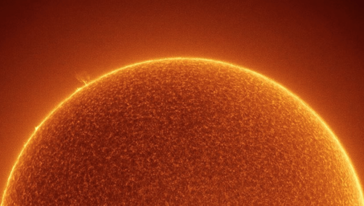 NASA Features Incredible Photo Showing the ISS in Front of the Sun, With Zero Sunspots