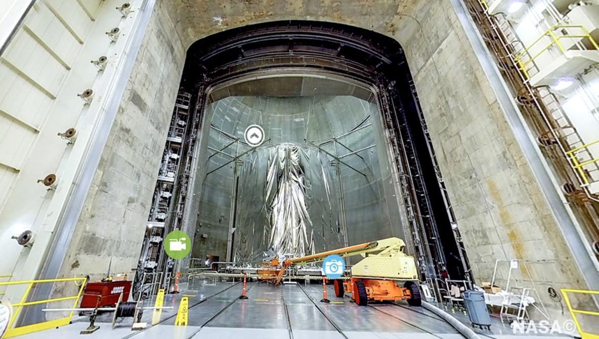 Explore NASA's Labs Like Google Street View