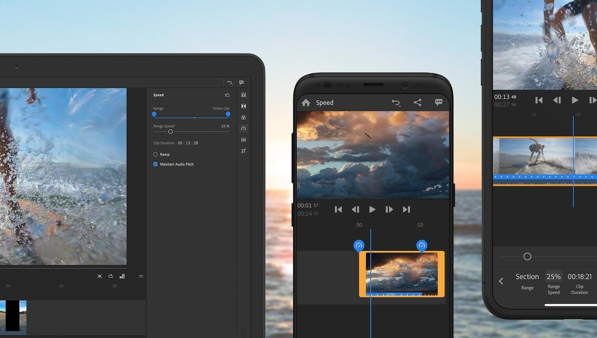 Premiere Rush, Adobe's Social Media Focused Video Editor, Adds