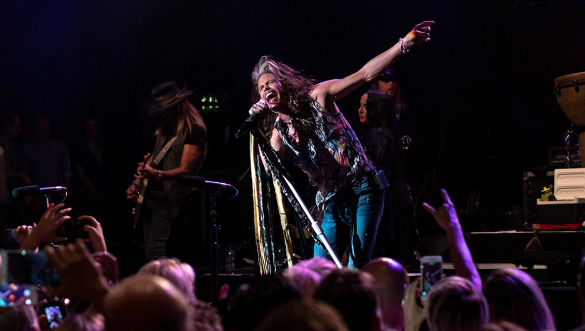 Aerosmith's Steven Tyler Tells Fan to Put Their Phone Away and 'F***ing Watch the Show'
