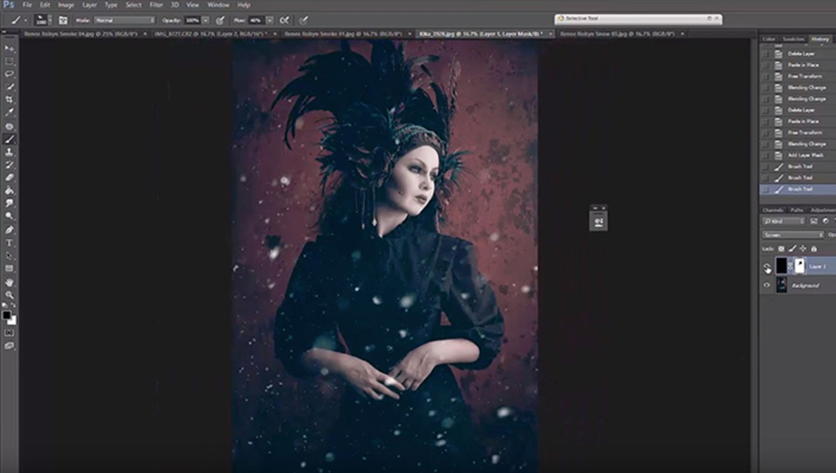 How to Add Realistic Smoke and Snow to Images | Fstoppers