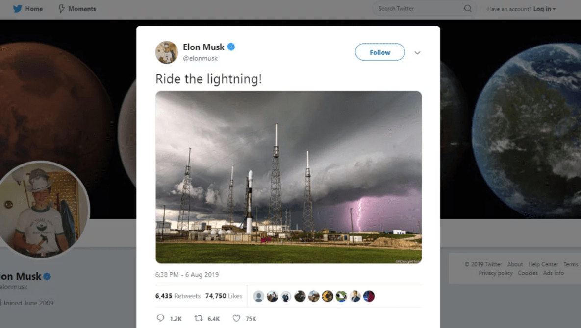 Elon Musk Uses Image Without Permission or Credit, Begins Blocking