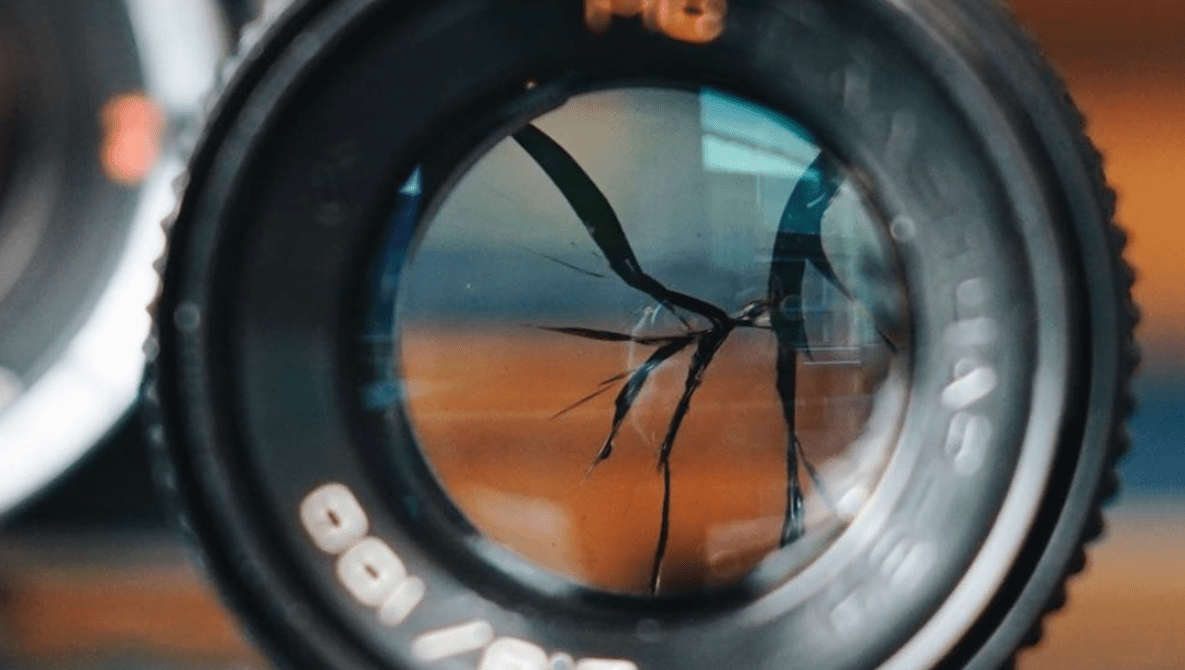 Taking Pictures Using a Lens With a Smashed Middle Element