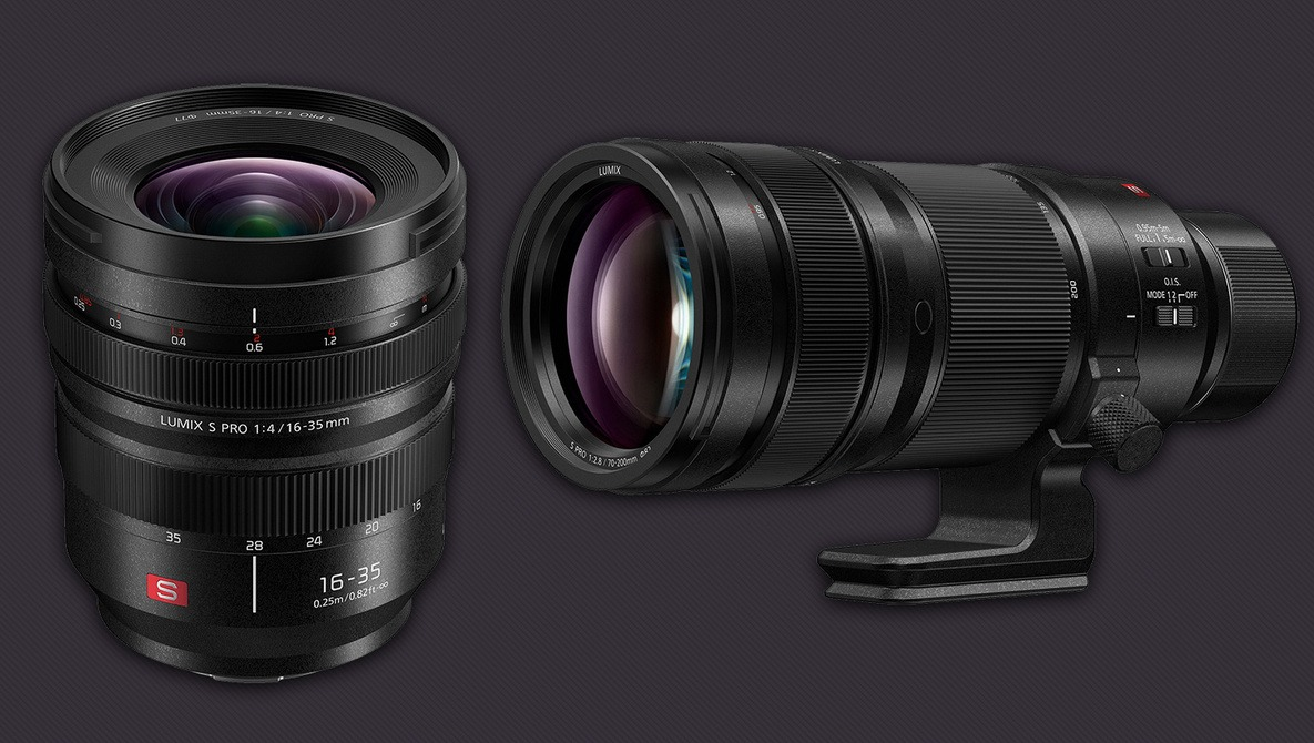 Panasonic Lumix S PRO 16-35mm f/4 and 70-200mm f/2.8 O.I.S. L-Mount Lenses Announced