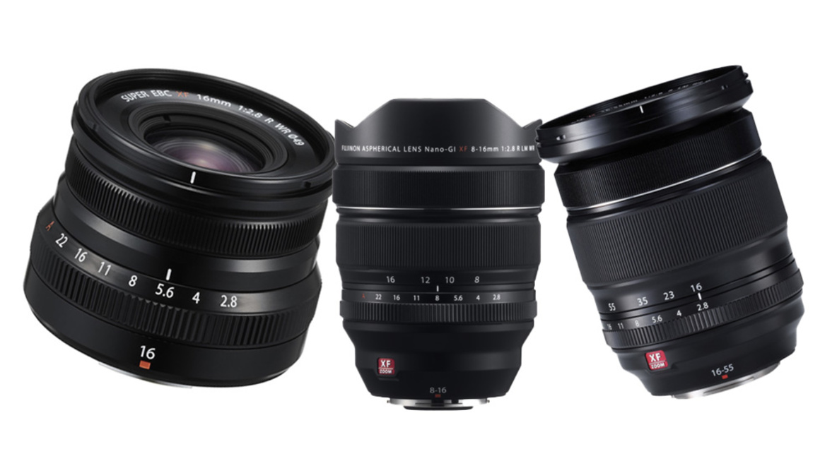 Comparing the Three Fujifilm 16mm f/2.8 lenses