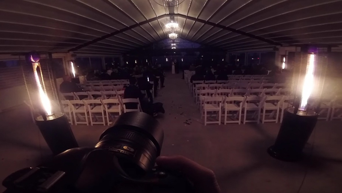 Shooting an Entire Wedding After Dark | Fstoppers
