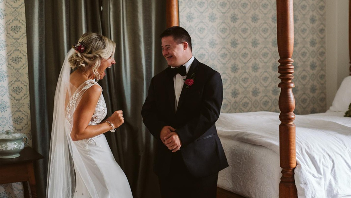 Bride Plans Exclusive First Look for Brother with Down Syndrome