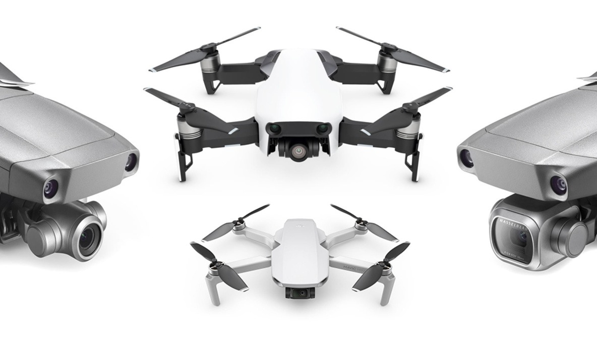 In Depth Comparison of the DJI Mavic Mini, Air, Zoom, and Pro Drones