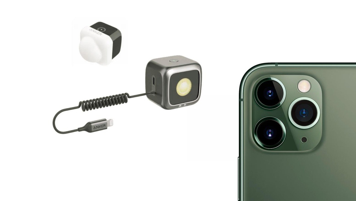 """Anker Unveils First MFI Certified iPhone Flash: Could This Be the Beginning of """"Pro"""" Lighting for Smartphones?"""