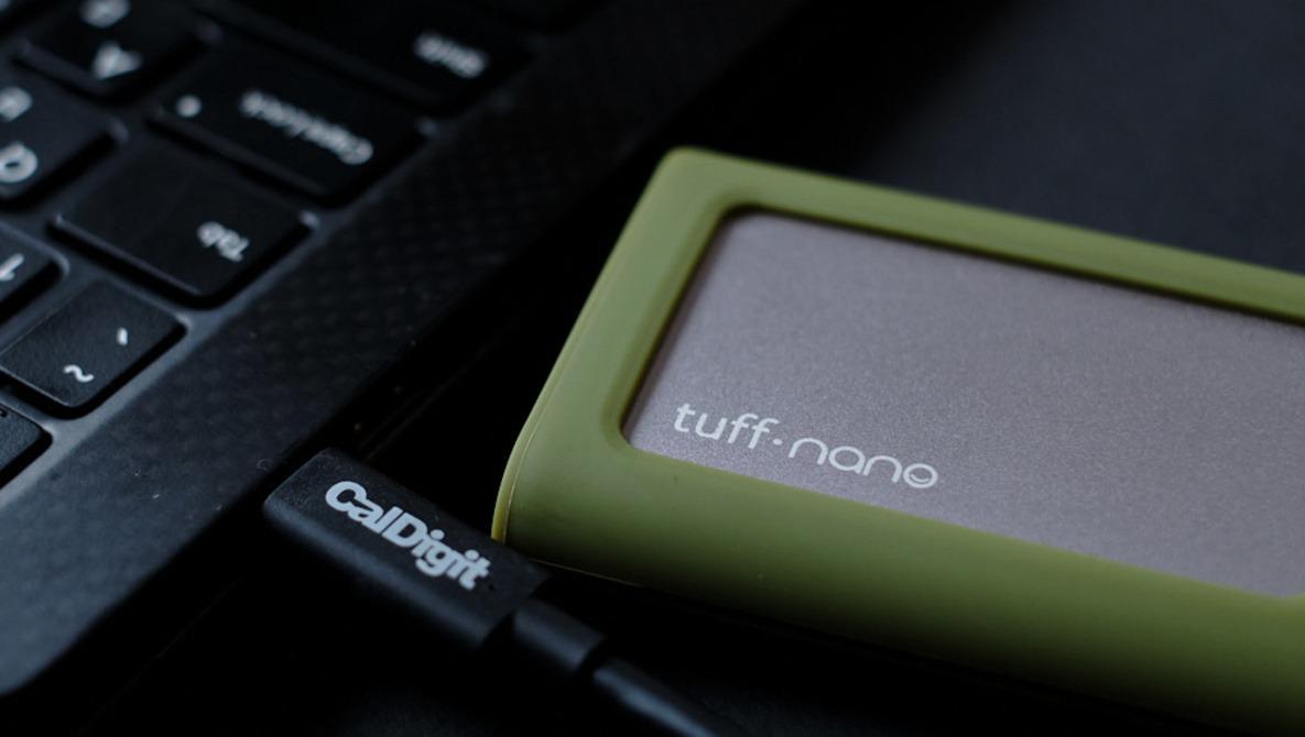 Fstoppers Reviews the Caldigit Tuff Nano Portable NVMe Drive