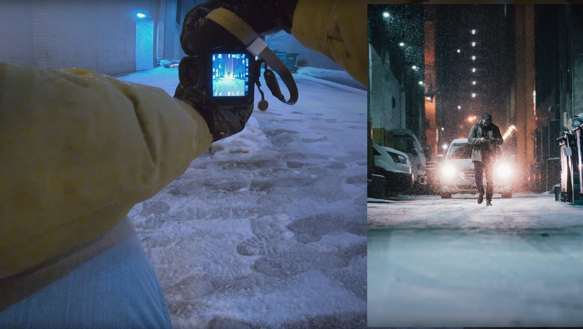 First-Person Street Photography in a Blizzard   Fstoppers