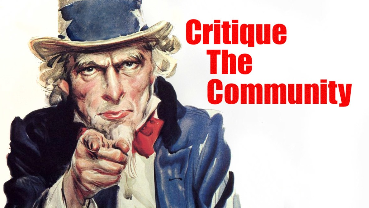 Have You Been Featured in an Episode of Critique the Community?