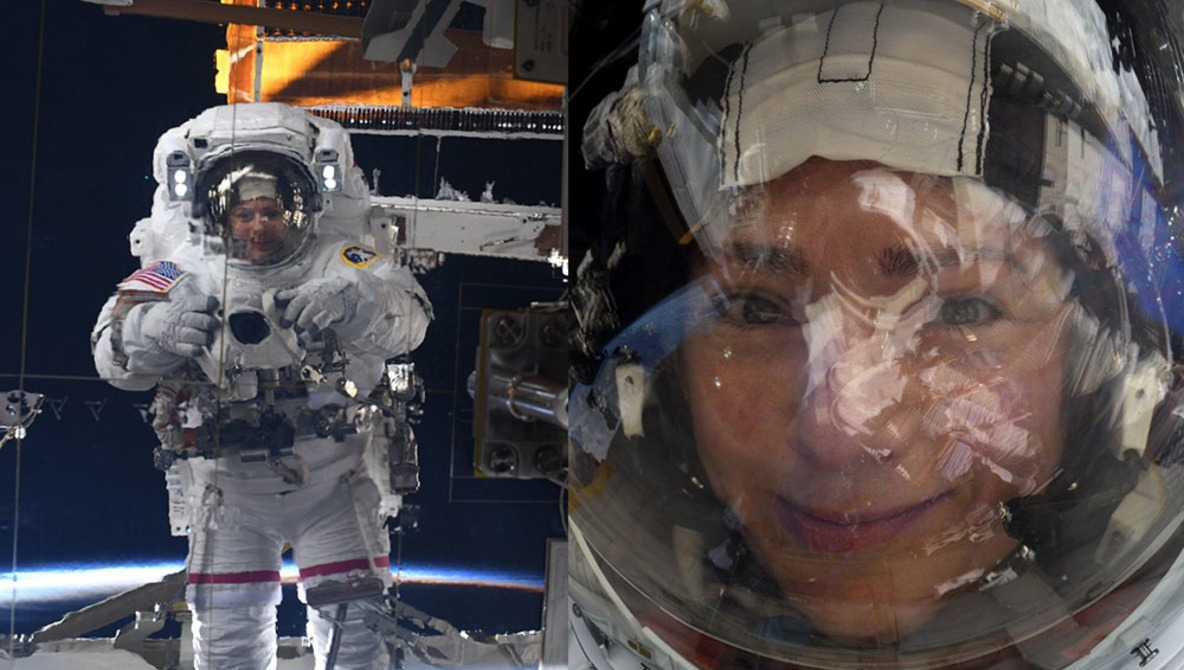 NASA Astronaut Uses Nikon D5 to Take Space Selfies With Earth in the Background
