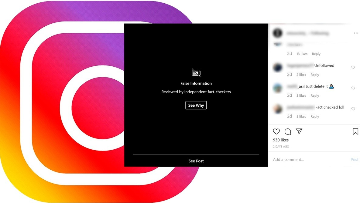 Instagram Fact-Checkers Are Now Hiding Creative or Photoshopped Images