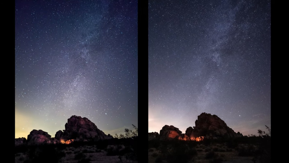 A Comparison of Google Pixel 4 Astrophotography Mode to the Sony a7s