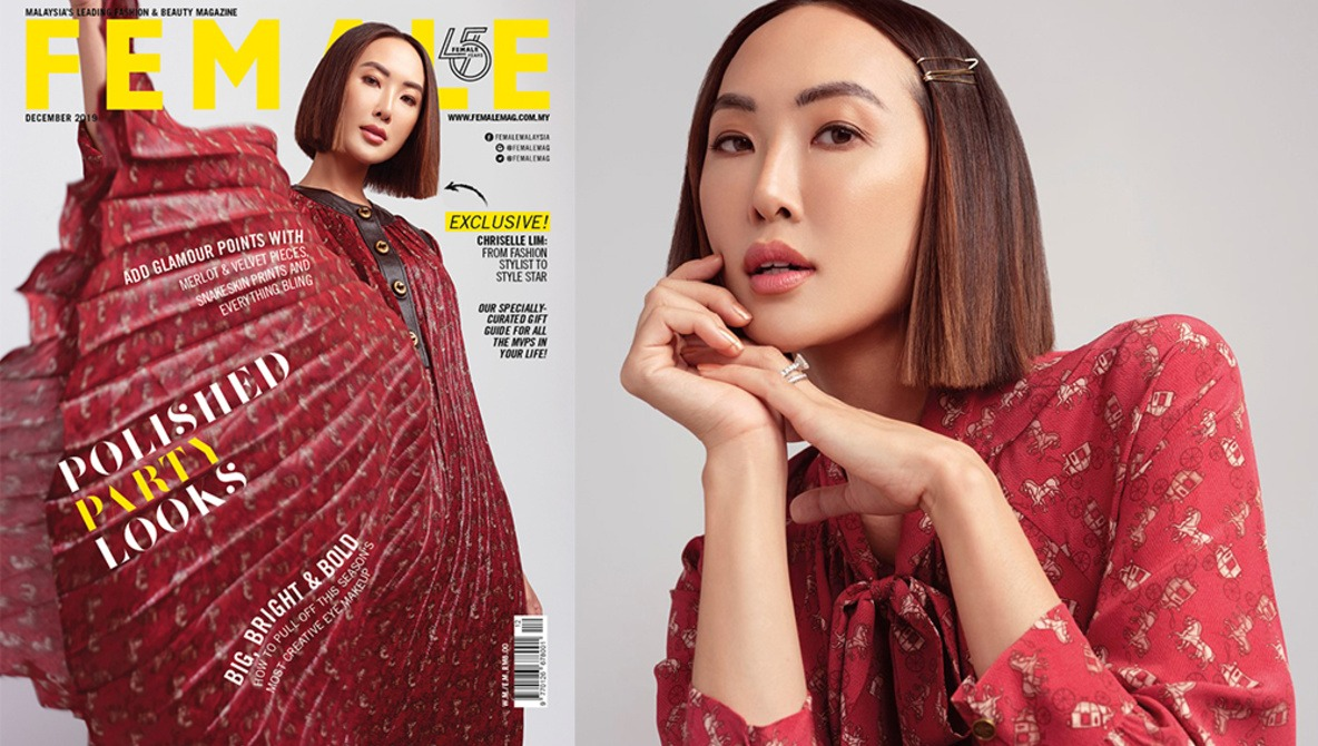 How I Shot Chriselle Lim for the Cover of Female Malaysia