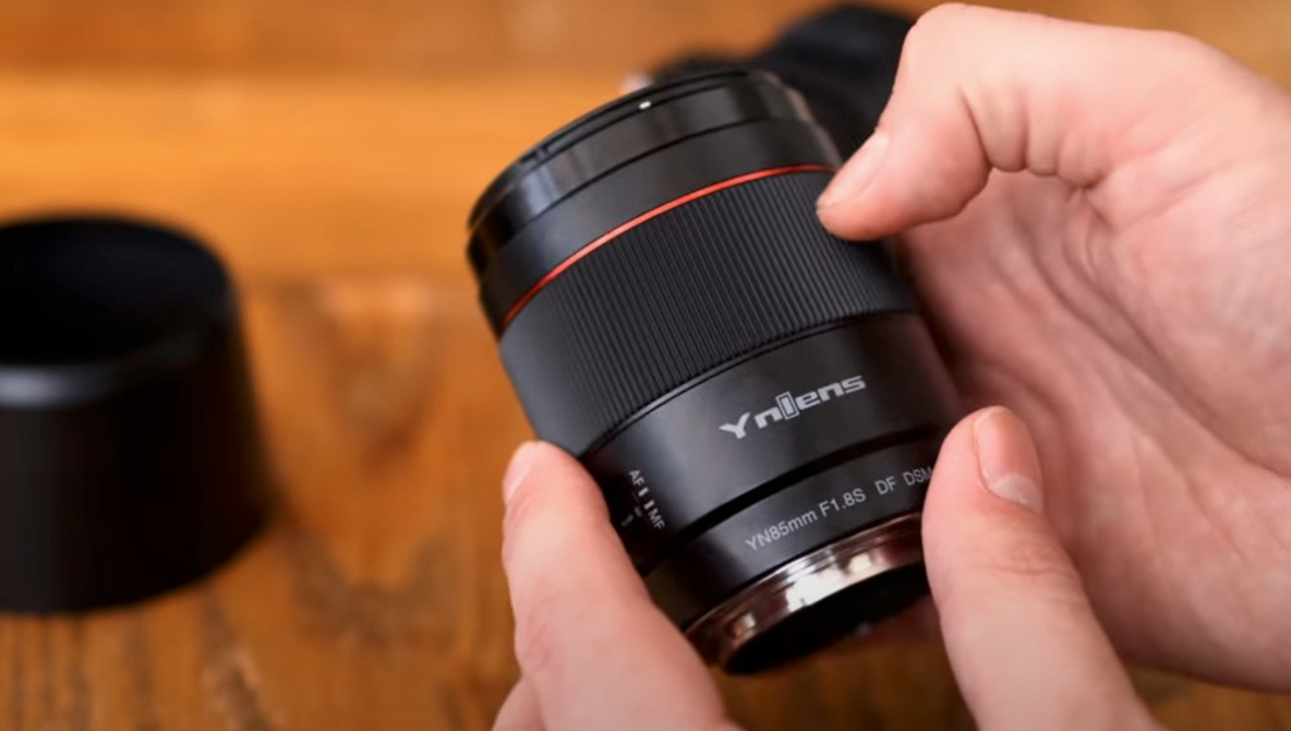 This New 85mm f/1.8 Lens for Sony Cameras Costs Only $200