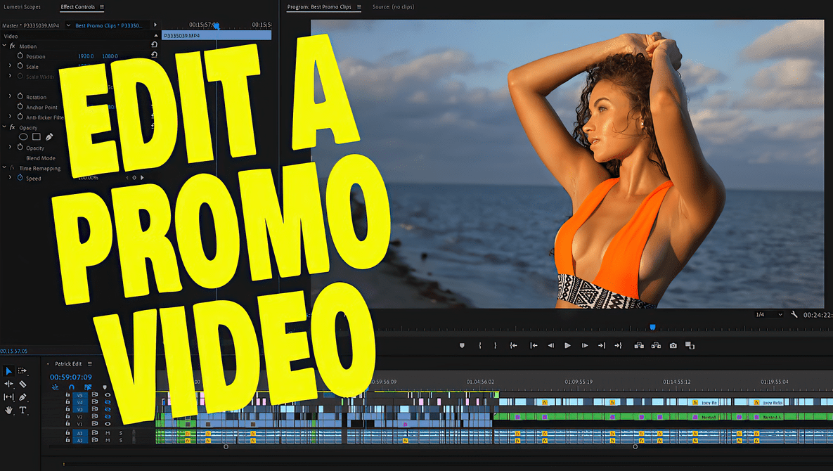 Tips on How to Edit a Promo Video