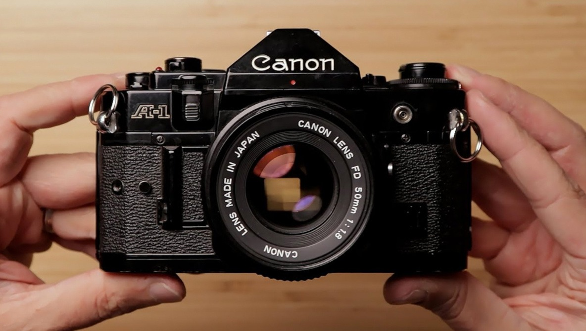 A Look at a Classic Film Camera: The Canon A-1