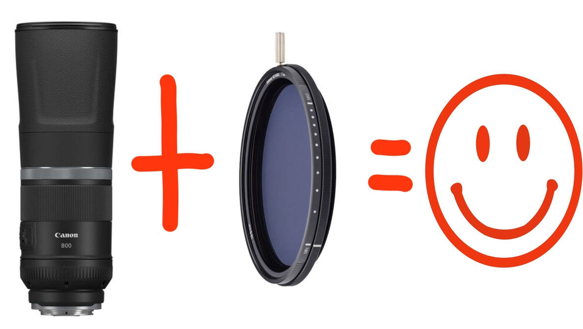 A 5-9 Stop Variable ND Filter on a 800mm Super Telephoto Lens? An Odd Combination With Great Results