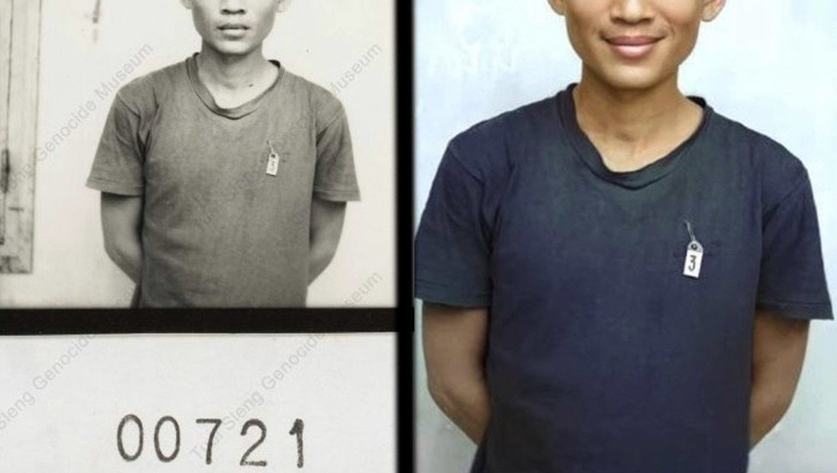 Photo Retoucher Criticized for Adding Smiles To Cambodian Citizens Murdered by the Khmer Rouge
