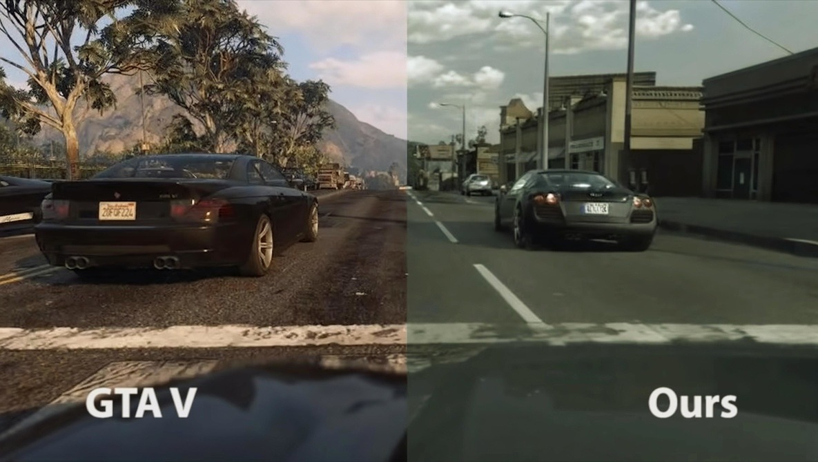 Intel AI Tool Makes GTA V Look Incredibly Photorealistic