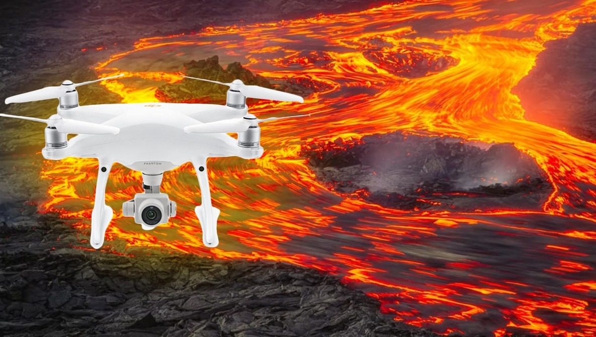 Incredible Abstract Lava Drone Photography in Iceland