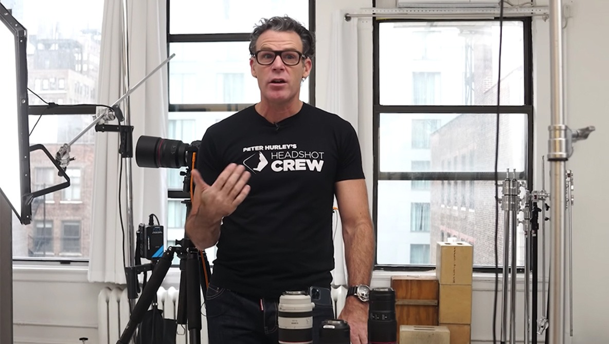 The Camera Gear and Settings Peter Hurley Recommends