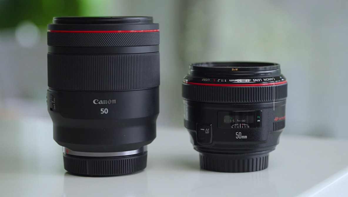 How Does Canon's RF 50mm f/1.2L Compare to the EF Version?