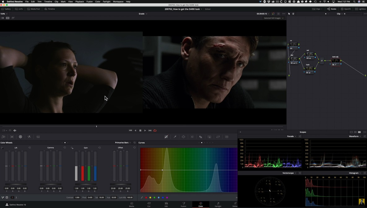 How To Get the Look of the Netflix Show DARK Using DaVinci Resolve 16
