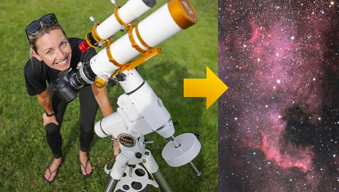 How to Get Started in Deep-Sky Astrophotography With a Telescope and Your Camera