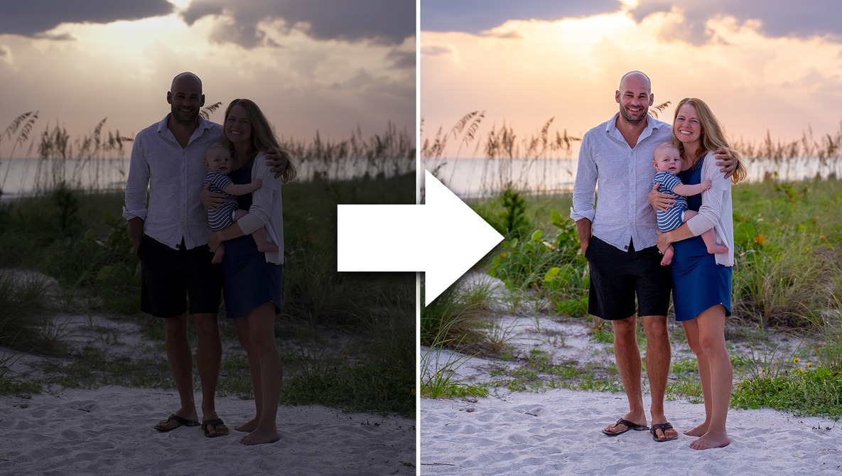 How To Edit/Fix Backlit Photos