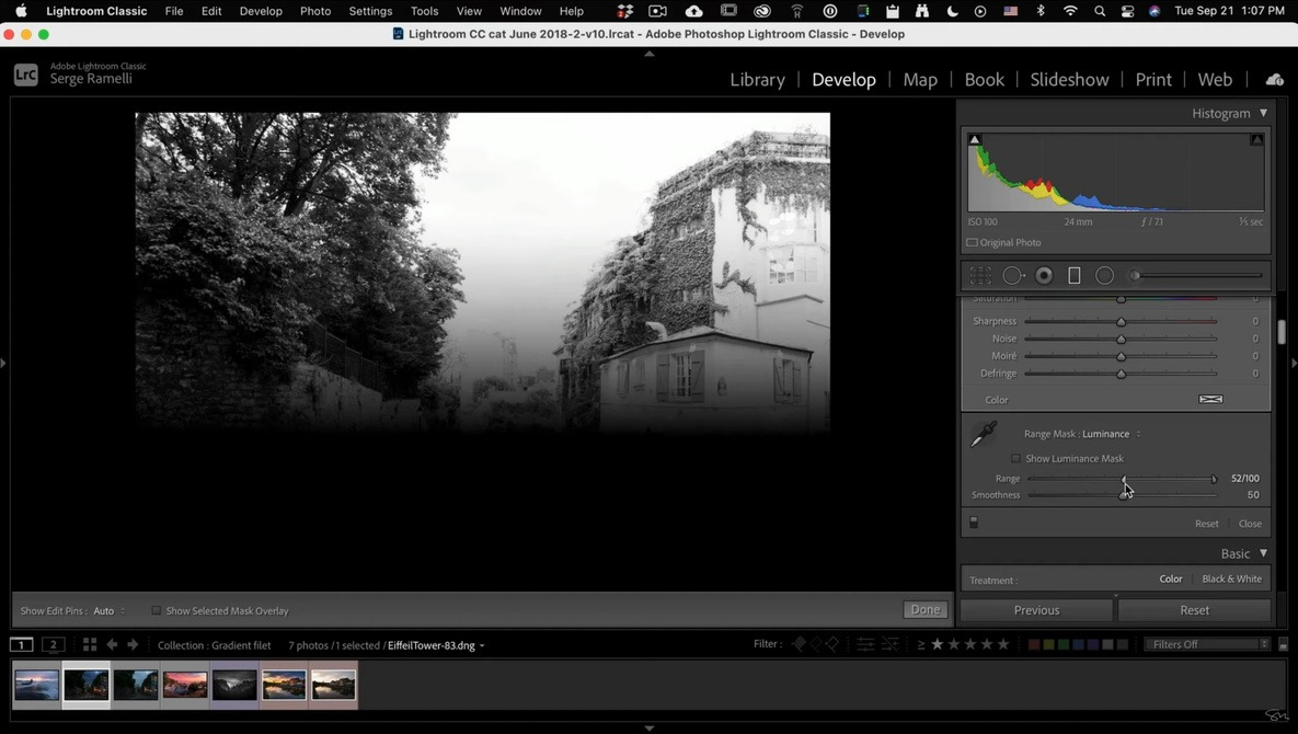 5 Great Tips for Using the Gradient Filter Effectively in Adobe Lightroom