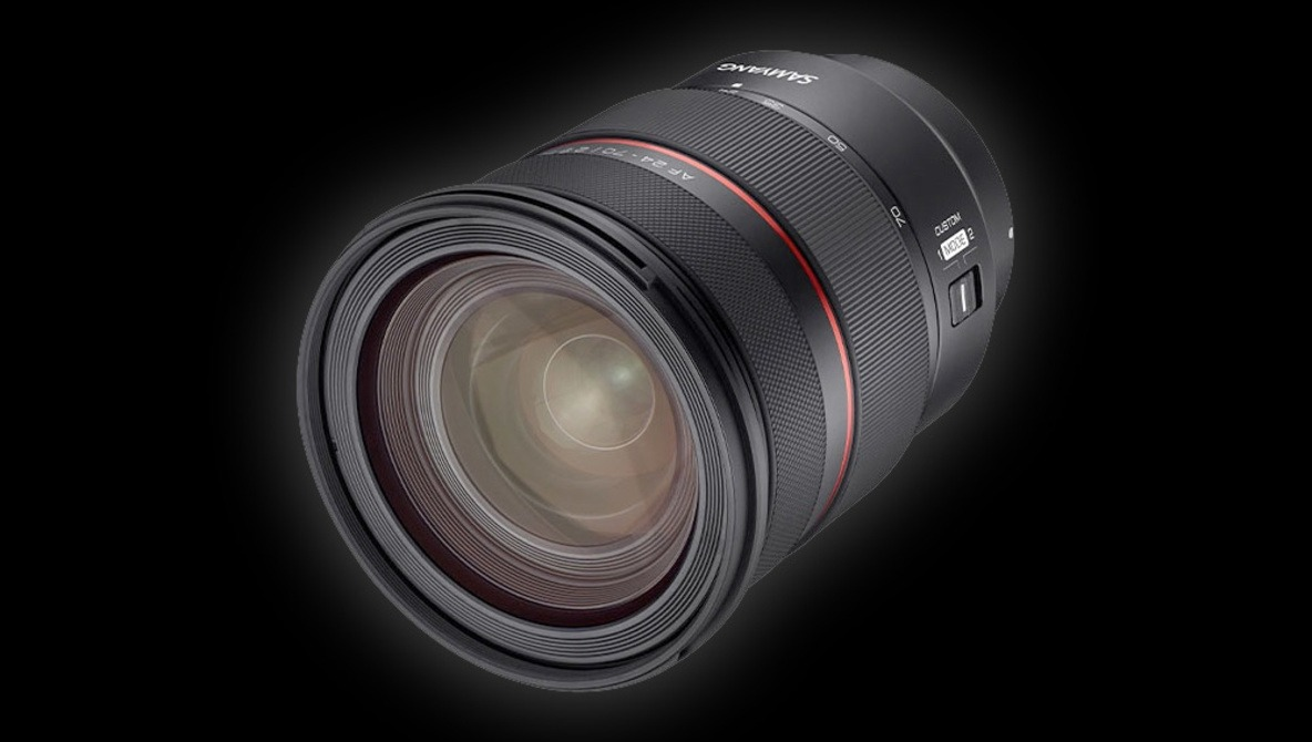 Samyang About to Excite Sony Users With a 24-70mm f/2.8 Lens, This Time Parfocal