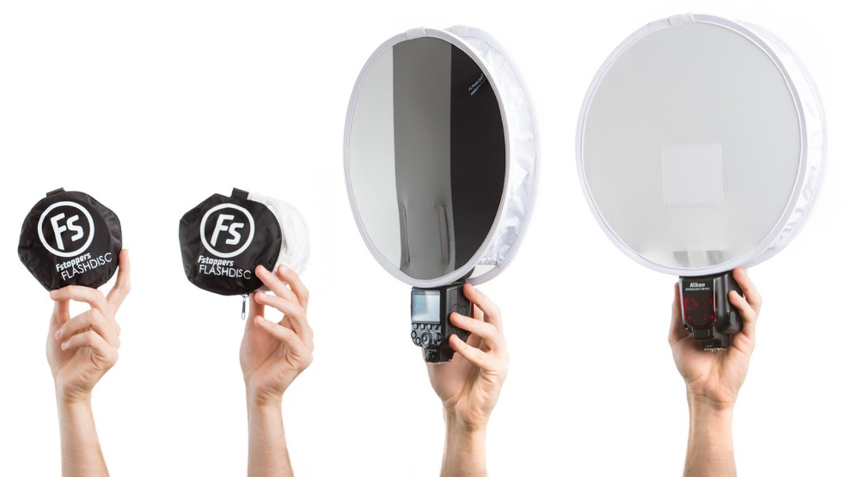 The Fstoppers Flash Disc Portable Light Modifier