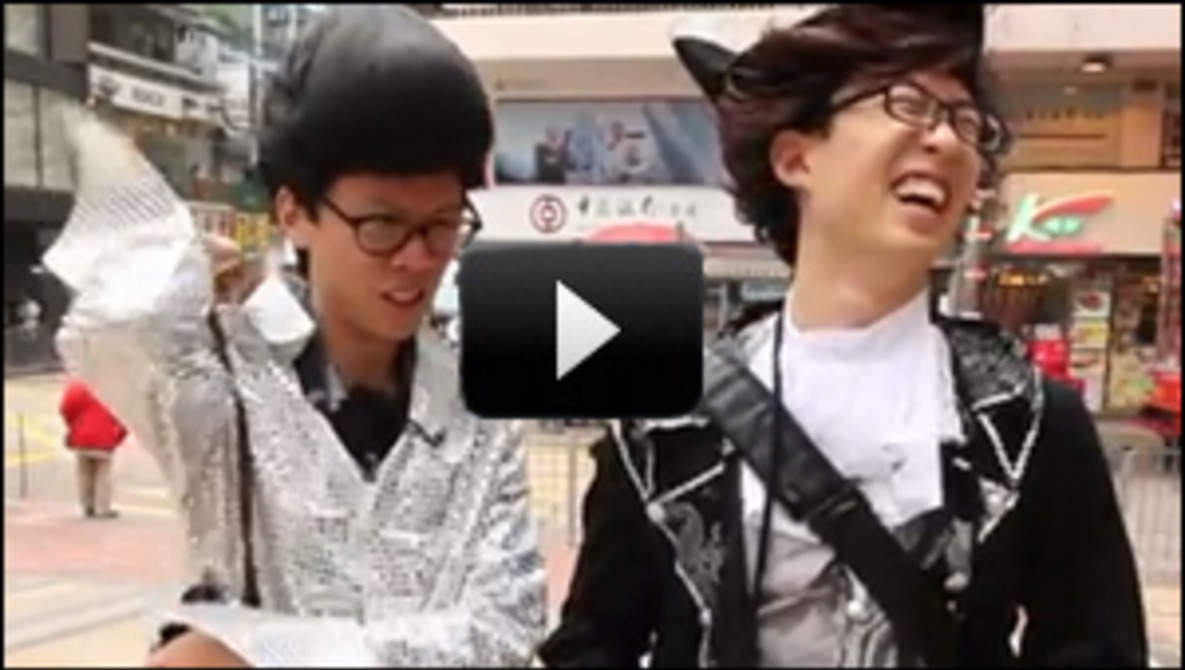 [Video] Kai Man Wong & Eric Kim Dress Up for Some Street Action