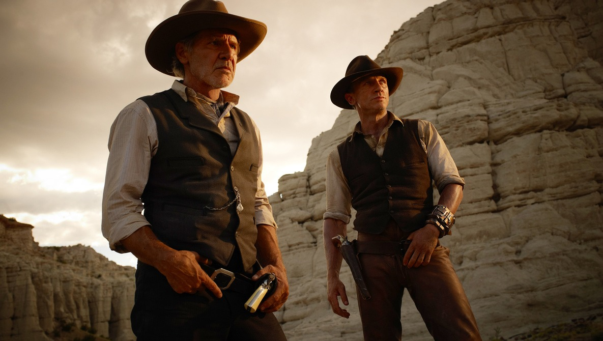 """[BTS] Timothy White Shoots for """"Cowboys and Aliens"""""""