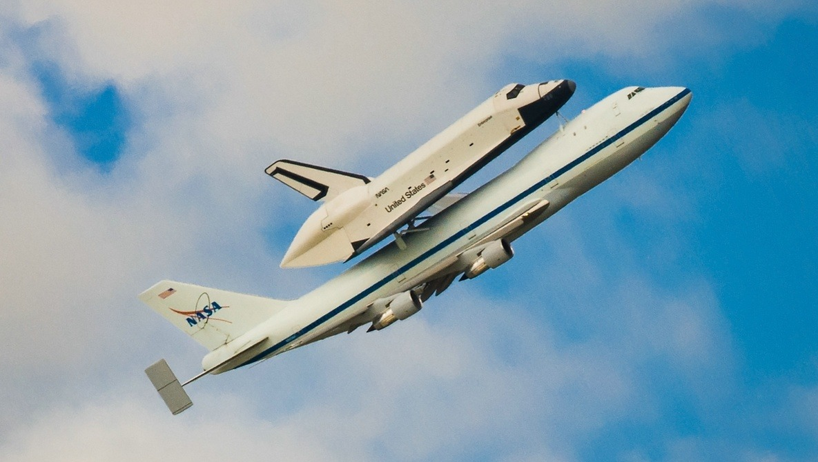 [Pics] It Was The Last Flight Of Space Shuttle Enterprise And I Was There