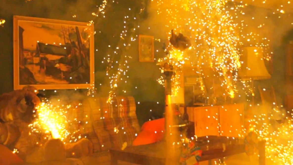 [Video] Indoor Fireworks and Other Insane Acts at 2500fps
