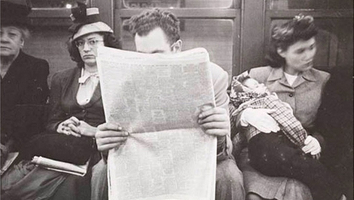 [Pics] Stanley Kubrick's 1940s Subway Photographs