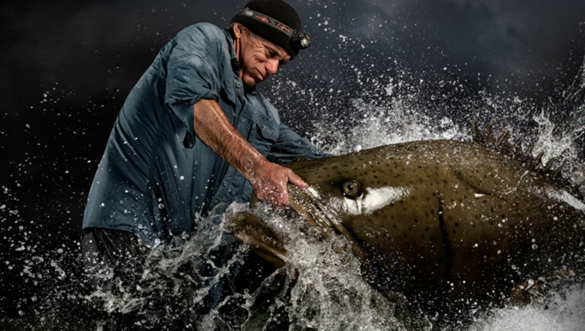 [Video] Shooting The Ad Campaign For Discovery's River Monsters