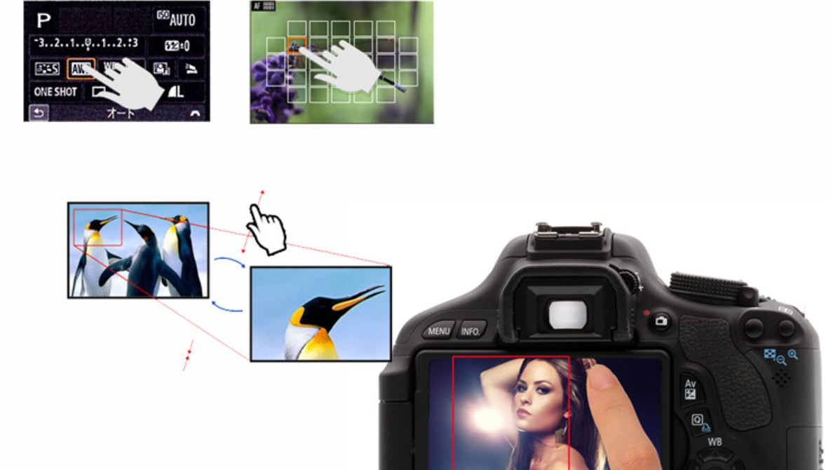 New Rumors on Canon T4i Touchscreen Info and Specs