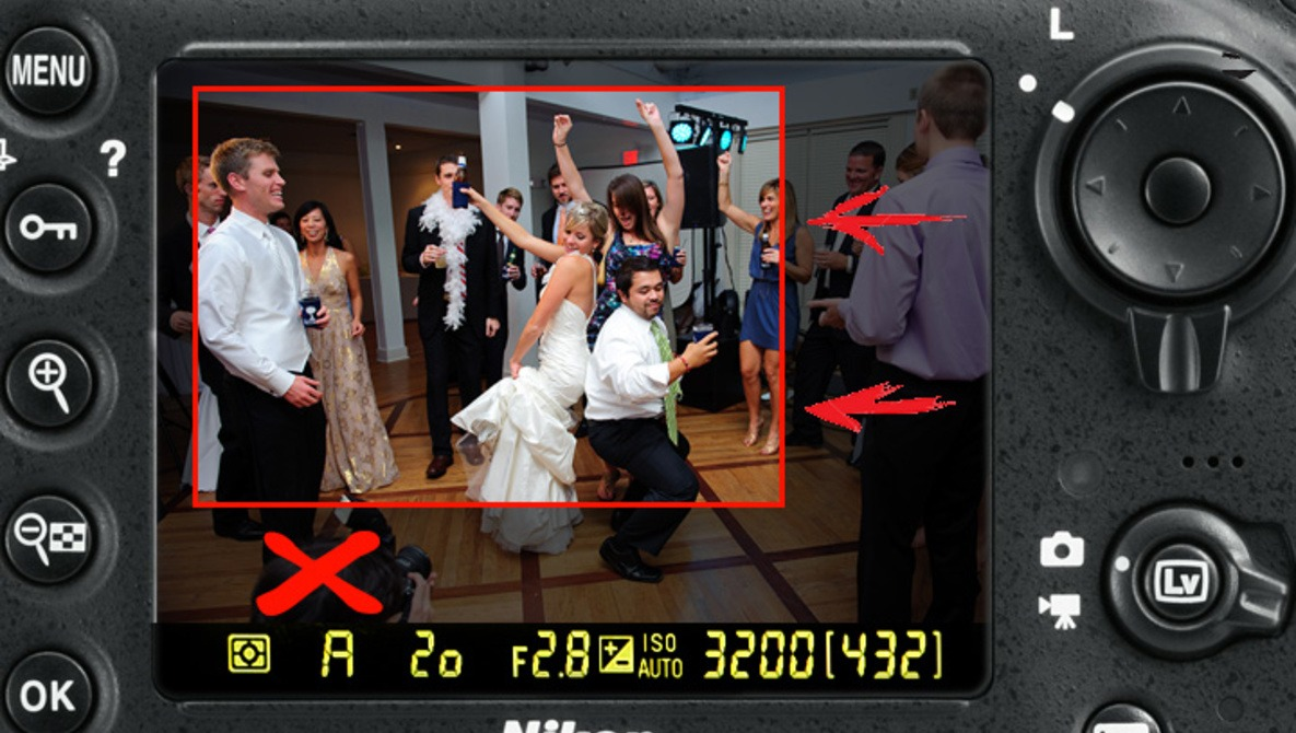 How Cropping In Camera Can Improve Your Wedding Photography