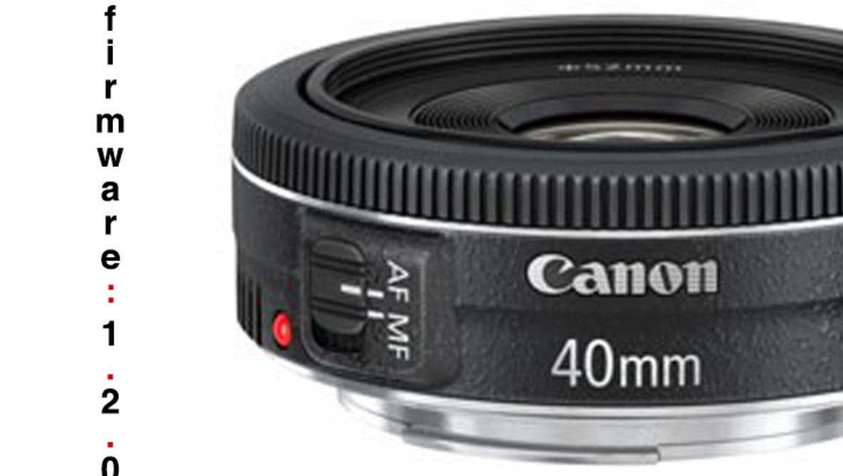 Download Canon's EF 40mm Autofocus Firmware Fix